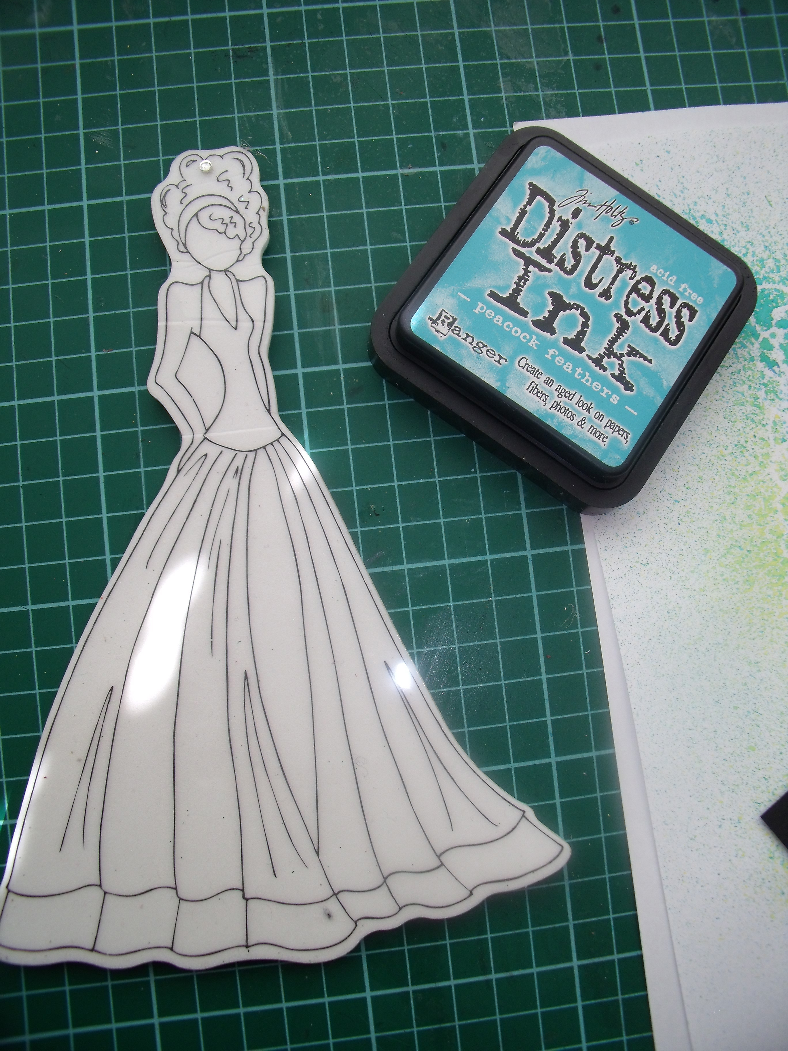 The Adventures of a Prima Doll Stamp | The Contented Crafter