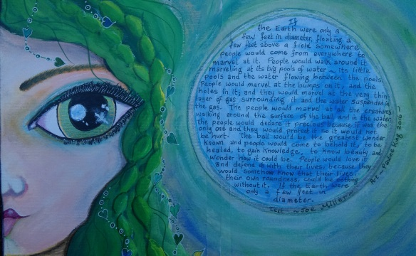 If the Earth Were Only ..... Art Journal August 2016