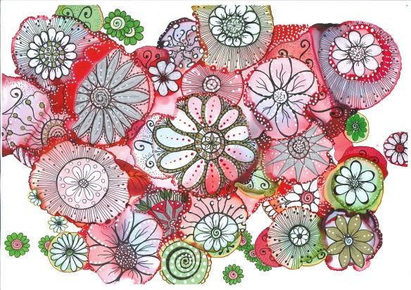 inky-doodles-summer-garden